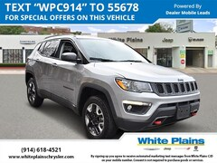 Used 2018 Jeep Compass Trailhawk 4x4 Sport Utility for sale at White Plains Chrysler Jeep Dodge in White Plains, NY