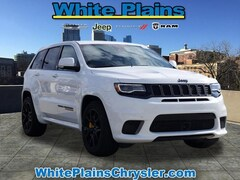 New 2018 Jeep Grand Cherokee TRACKHAWK 4X4 Sport Utility 181252J for sale in White Plains, NY at White Plains Chrysler Jeep Dodge