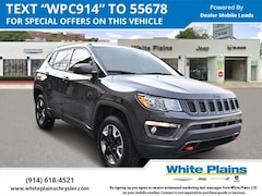 2018 Jeep Compass Trailhawk 4x4 Sport Utility UE16328 for sale at White Plains Chrysler Jeep Dodge in White Plains, NY