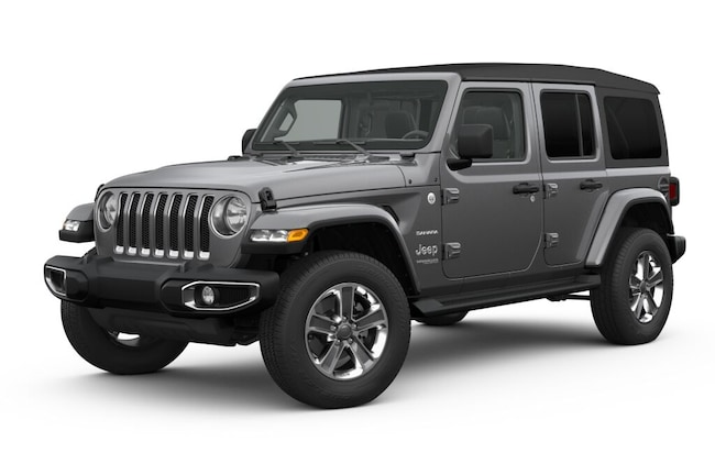 New 2019 Jeep Wrangler UNLIMITED SAHARA 4X4 Sport Utility in White Plains, NY