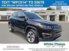 2019 Jeep Compass Limited 4x4 Sport Utility UE16705 for sale at White Plains Chrysler Jeep Dodge in White Plains, NY