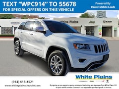 2015 Jeep Grand Cherokee 4WD 4dr Limited Sport Utility U16448 for sale at White Plains Chrysler Jeep Dodge in White Plains, NY