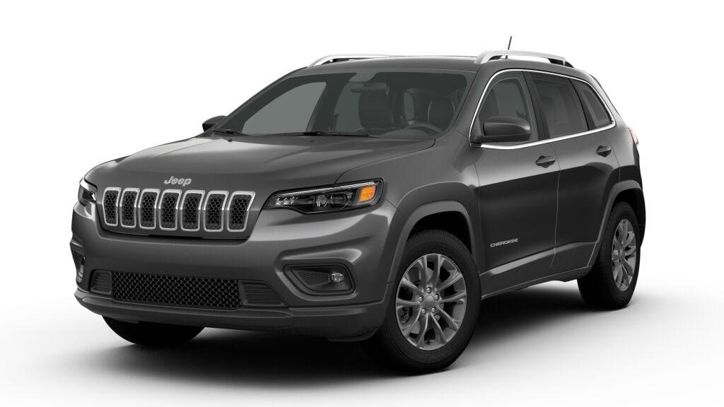 New 2019 Jeep Cherokee LATITUDE PLUS 4X4 diamond black crystal pearlcoat exterior black interior