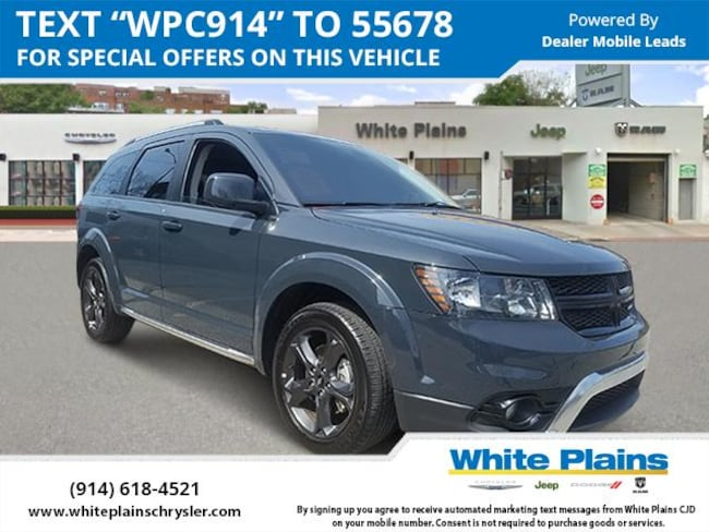 2018 Dodge Journey Crossroad AWD Sport Utility for sale in White Plains, NY at White Plains Chrysler Jeep Dodge
