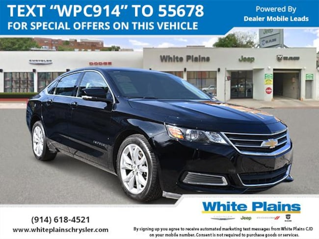 2017 Chevrolet Impala 4dr Sdn LT w/1LT Car for sale in White Plains, NY at White Plains Chrysler Jeep Dodge