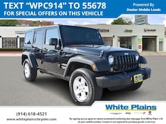 2017 Jeep Wrangler Unlimited Sport 4x4 Sport Utility UE16077 for sale at White Plains Chrysler Jeep Dodge in White Plains, NY