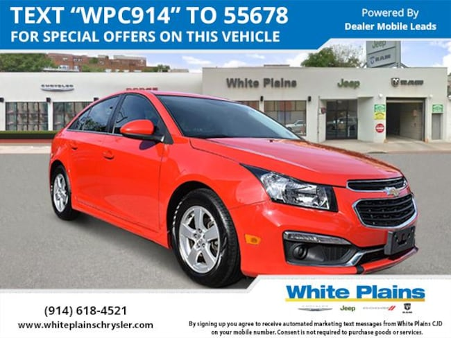 2015 Chevrolet Cruze 4dr Sdn Auto 1LT Car for sale in White Plains, NY at White Plains Chrysler Jeep Dodge