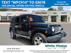 Used 2016 Jeep Wrangler Unlimited Sahara 4dr: Hardtop, Sidesteps Sport Utility for sale at White Plains Chrysler Jeep Dodge in White Plains, NY