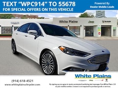 Used 2018 Ford Fusion Titanium AWD Car for sale at White Plains Chrysler Jeep Dodge in White Plains, NY