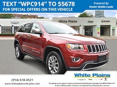 Used 2015 Jeep Grand Cherokee Limited: Leather, Sunroof, NAV Sport Utility for sale at White Plains Chrysler Jeep Dodge in White Plains, NY