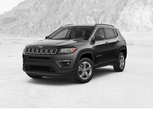 New 2018 Jeep Compass LATITUDE 4X4 granite crystal exterior black interior 0 miles Stock 181464