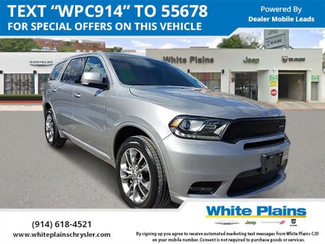 2019 Dodge Durango GT Plus AWD Sport Utility for sale in White Plains, NY at White Plains Chrysler Jeep Dodge