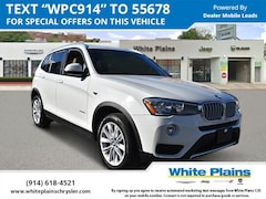 Used 2017 BMW X3 Xdrive28i Sports Activity Vehicle Sport Utility for sale at White Plains Chrysler Jeep Dodge in White Plains, NY