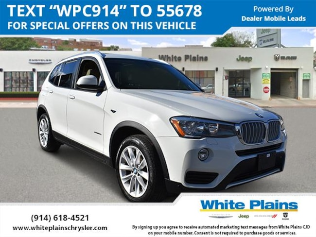 2017 BMW X3 Xdrive28i Sports Activity Vehicle Sport Utility for sale in White Plains, NY at White Plains Chrysler Jeep Dodge