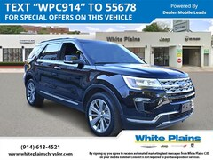 Used 2018 Ford Explorer Limited 4WD Sport Utility for sale at White Plains Chrysler Jeep Dodge in White Plains, NY