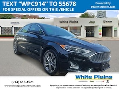 Used 2019 Ford Fusion Hybrid Titanium FWD Car for sale at White Plains Chrysler Jeep Dodge in White Plains, NY