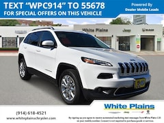 2016 Jeep Cherokee 4WD 4dr Limited Sport Utility U16421 for sale at White Plains Chrysler Jeep Dodge in White Plains, NY