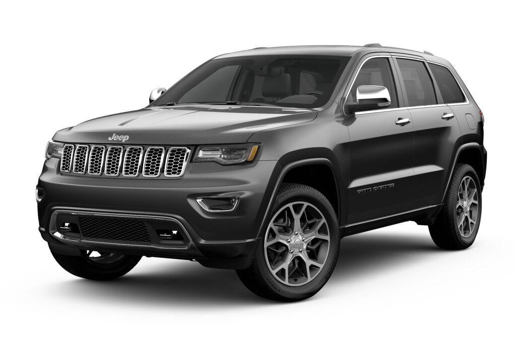 New 2019 Jeep Grand Cherokee OVERLAND 4X4 ivory 3-coat exterior black interior 0 miles Stock 19