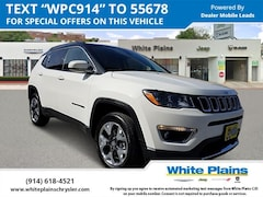 2019 Jeep Compass Limited 4x4 Sport Utility UE16574 for sale at White Plains Chrysler Jeep Dodge in White Plains, NY