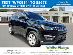 2019 Jeep Compass Latitude 4x4 Sport Utility UE16664 for sale at White Plains Chrysler Jeep Dodge in White Plains, NY