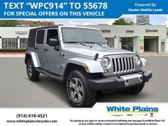 2017 Jeep Wrangler Unlimited Hardtop Sport Utility UE15978 for sale at White Plains Chrysler Jeep Dodge in White Plains, NY