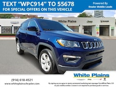 2019 Jeep Compass Latitude 4x4 Sport Utility UE16665 for sale at White Plains Chrysler Jeep Dodge in White Plains, NY