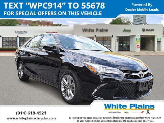 2017 Toyota Camry SE Auto Car for sale in White Plains, NY at White Plains Chrysler Jeep Dodge
