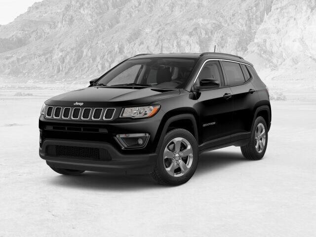 New 2018 Jeep Compass LATITUDE 4X4 diamond black crystal pearlcoat exterior black interior 0 mile