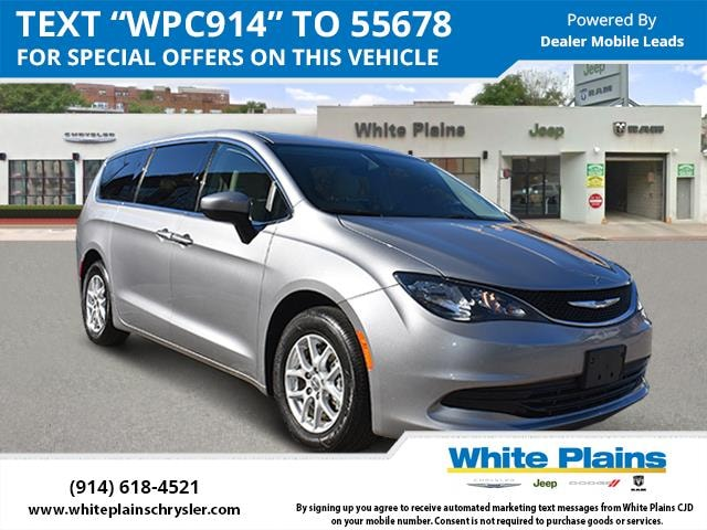 Used 2017 Chrysler Pacifica LX FWD billet silver exterior 7895 miles Stock U16166 VIN 2C4RC1C