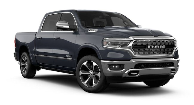6b2bde20a83 New 2019 Ram 1500 LIMITED CREW CAB 4X4 5 7 BOX Crew Cab in White