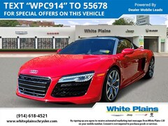 Used 2014 Audi R8 2dr Conv Auto Quattro Spyder V10 Convertible for sale at White Plains Chrysler Jeep Dodge in White Plains, NY