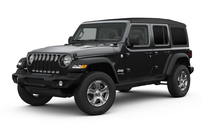 New 2019 Jeep Wrangler UNLIMITED SPORT S 4X4 Sport Utility in White Plains, NY