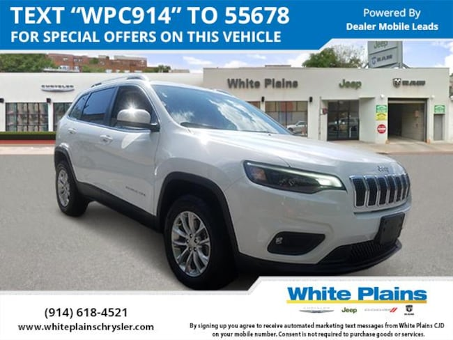 2019 Jeep Cherokee Latitude 4x4 Sport Utility for sale in White Plains, NY at White Plains Chrysler Jeep Dodge