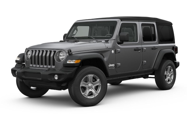 New 2018 Jeep Wrangler UNLIMITED SPORT S 4X4 Sport Utility in White Plains, NY