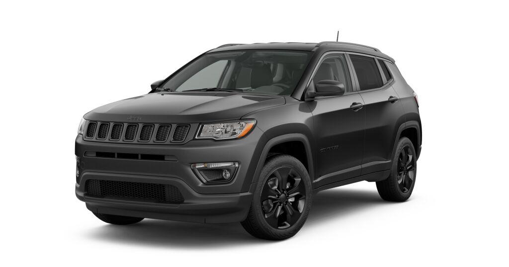 New 2019 Jeep Compass ALTITUDE 4X4 white exterior black interior 0 miles Stock 190511J VIN 3C
