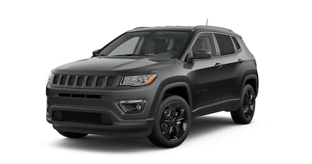 New 2019 Jeep Compass LATITUDE 4X4 diamond black crystal pearlcoat exterior black interior 0 mile