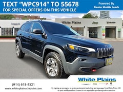 Used 2019 Jeep Cherokee Trailhawk 4x4 Sport Utility for sale at White Plains Chrysler Jeep Dodge in White Plains, NY