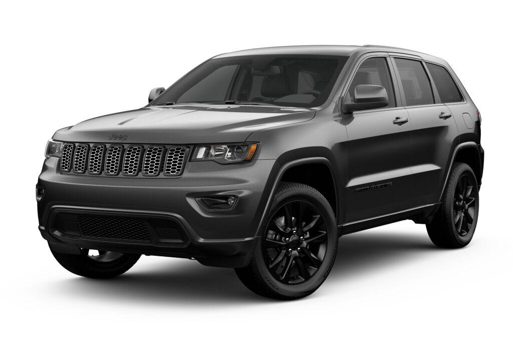 New 2019 Jeep Grand Cherokee ALTITUDE 4X4 bright white exterior black interior 0 miles Stock 19