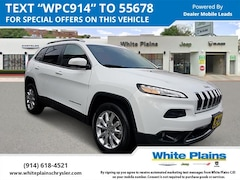 Used 2016 Jeep Cherokee 4WD 4dr Limited Sport Utility for sale at White Plains Chrysler Jeep Dodge in White Plains, NY