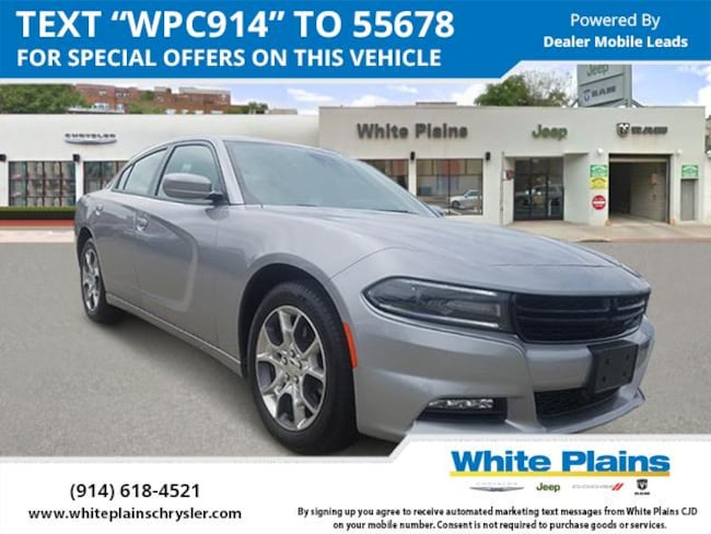 Awd Cars For Sale >> Used 2017 Dodge Charger Sxt Awd For Sale White Plains Ny