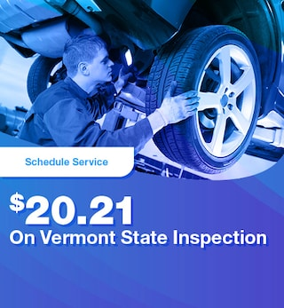 $20.21 On Vermont State Inspection