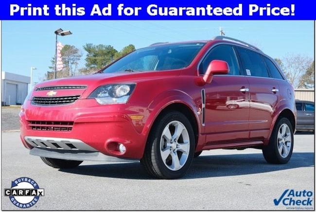 Used 2015 Chevrolet Captiva Sport For Sale At White Ford Llc Vin