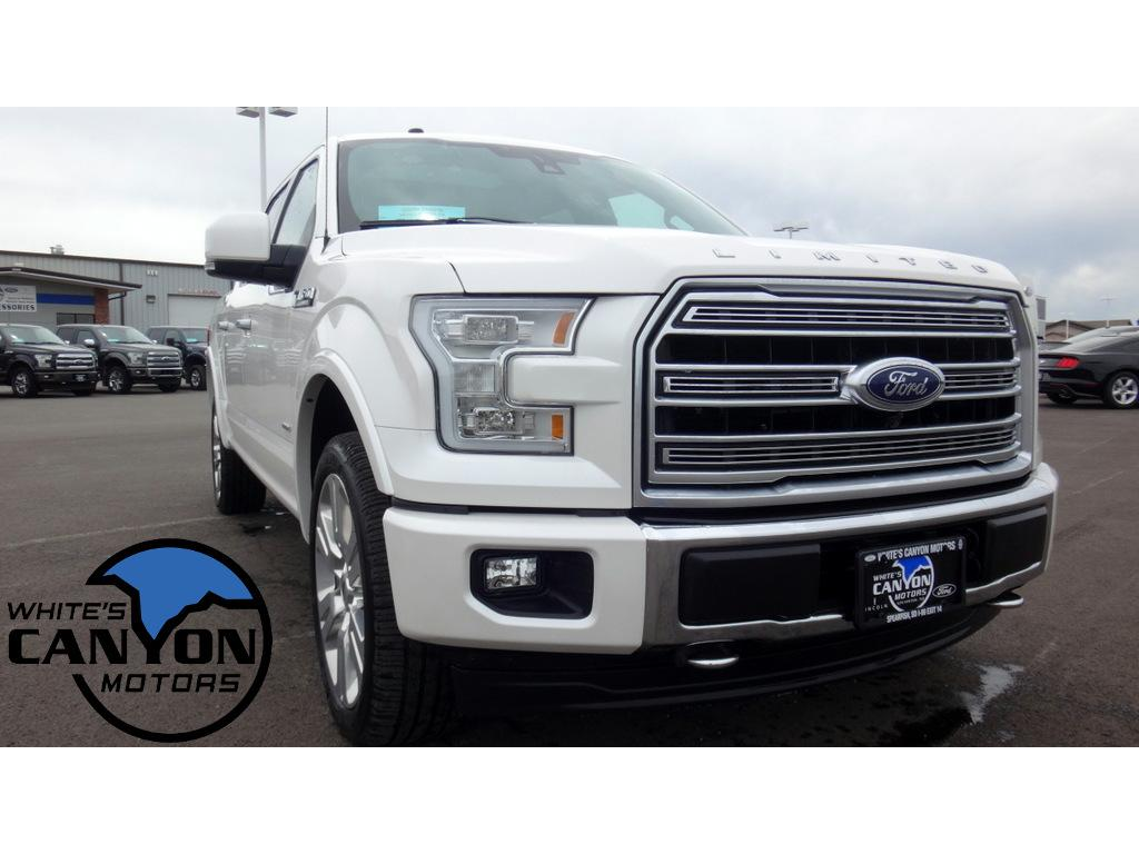 2017 Ford F-150 Limited Cab; Styleside; Super Crew