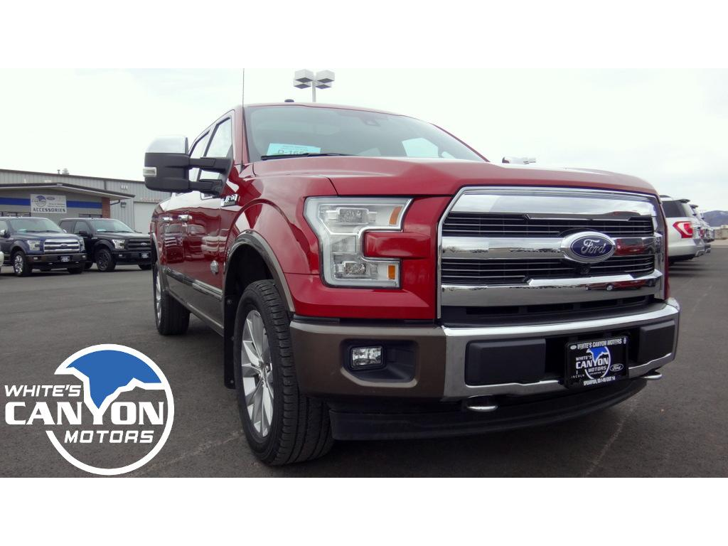 2017 Ford F-150 King Ranch Cab; Styleside; Super Crew