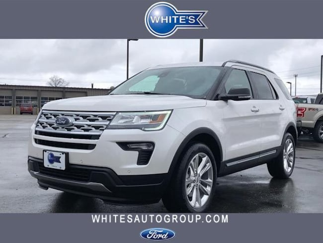 New 2019 Ford Explorer XLT 4WD SUV Near Springfield OH