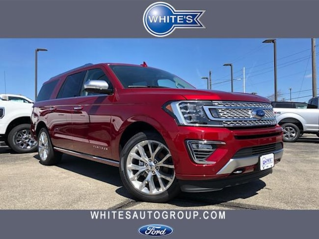 New 2019 Ford Expedition Max Platinum 4x4 SUV Near Springfield OH
