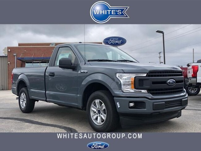 New 2019 Ford F-150 XL 2WD Reg Cab 8 Box Truck Near Springfield OH