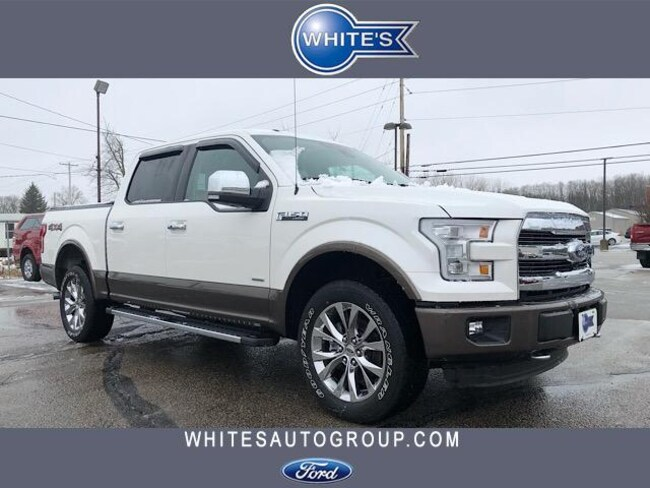 Used 2016 Ford F-150 4WD SuperCrew 145 Lariat Truck near Springfield