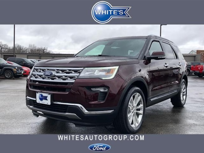 New 2019 Ford Explorer Limited 4WD SUV Near Springfield OH