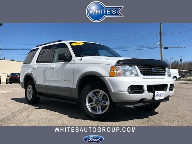 Used 2002 Ford Explorer 114 WB XLT 4WD SUV near Springfield